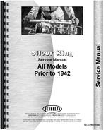Service Manual for Silver King all Tractor Pre-1942