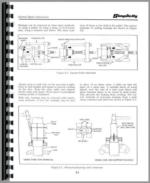 simplicity broadmoor manual