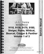 Service Manual for Steiger Cougar 1000 Tractor