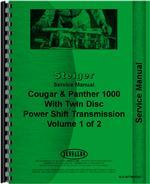 """""""Service Manual for Steiger Cougar CR-1225, CR-1280, KR-1225, KR-1280 Tractor"""""""