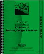 Operators Manual for Steiger Panther III Tractor