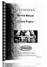 Service Manual for Tecumseh all 2 Cycle Engine