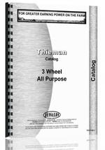 Catalog for Thieman all Tractor