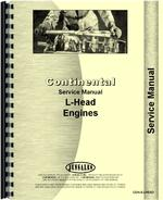 """Service Manual for Terratrac GT-25, GT-30 Crawler Engine Only Continental F-124 """