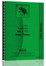 Parts Manual for Adams 666 Grader