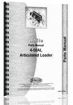 Parts Manual for White 4-50 Articulated Loader