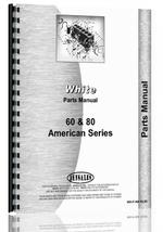 Parts Manual for White American 60 Tractor