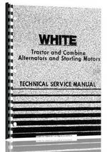 Service Manual for White All Alternators