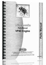 Parts Manual for Wisconsin VP4D Engine