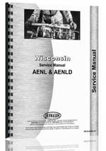 Service Manual for Wisconsin AENL Engine