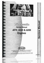 Service Manual for Wisconsin AFH Engine