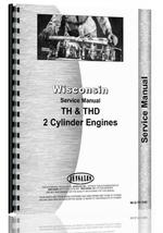 """Service Manual for Wisconsin TH, THD Engine"""