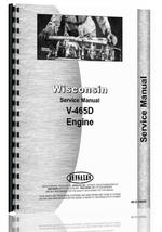Service Manual for Wisconsin V465D Engine