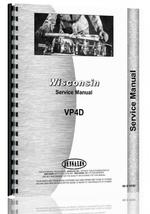 Service Manual for Wisconsin VP4D Engine