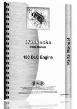 Parts Manual for Waukesha 180-DLC Engine