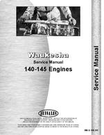 """Service Manual for Waukesha 145-GK, GKB, GS, GZ, GZB Engine"""