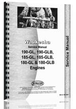 Service Manual for Hough H-25B Pay Loader Waukesha Engine
