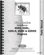 Parts Manual for Waukesha 6SRK Engine