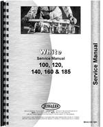 Service Manual for White 185 Tractor