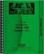 Service Manual for White 2-115 Tractor