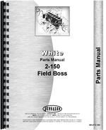 Parts Manual for White 2-150 Tractor