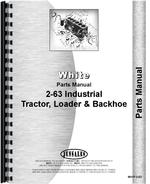 Parts Manual for White 2-63 Tractor