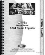 Service Manual for White 2-85 Perkins 6.354 Engine