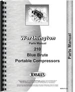 Parts Manual for Worthington 210 Portable Air Compressor