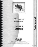 Parts Manual for Yanmar YM186 Tractor