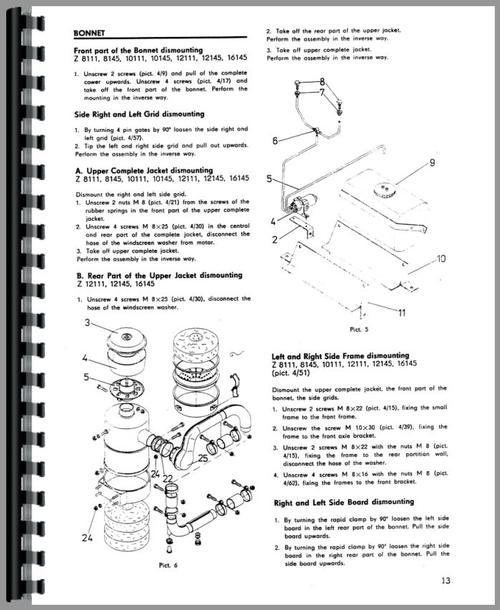 zetor 12145 tractor service manual rh themanualstore com Mahindra Tractors Zetor Farm Tractors