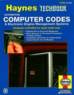 Haynes 10205 Automotive Computer Codes and Electronic Engine Management Systems Techbook