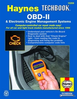 Haynes 10206 OBD-II and Electronic Engine Management Systems Techbook