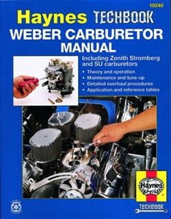 Haynes 10240 Weber Carburetor Techbook