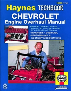 Haynes 10305 Chevy Engine Overhaul Techbook