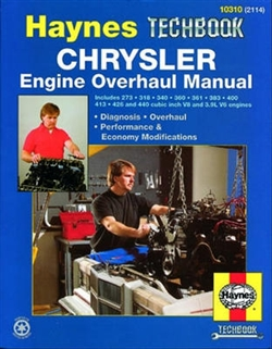 Haynes 10310 Chrysler Engine Overhaul Techbook