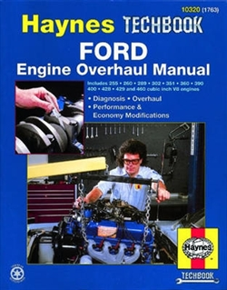 Haynes 10320 Ford Engine Overhaul Techbook