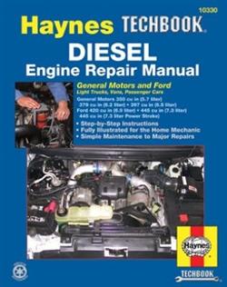 Haynes 10330 Diesel Engine Repair Techbook