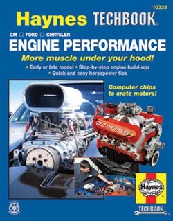 Haynes 10333 Engine Performance Techbook for GM, Ford and Chrysler