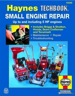 Haynes 10340 Small Engine Repair Techbook 5 HP and Less