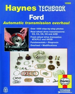 Haynes 10355 Ford Automatic Transmission Overhaul Techbook