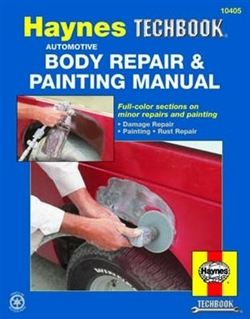 Haynes 10405 Automotive Body Repair and Painting Techbook