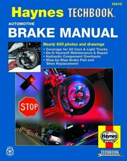 Haynes 10410 Automotive Brake Techbook