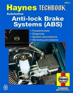 Haynes 10411 Automotive Anti-Lock Brake Systems (ABS) Techbook