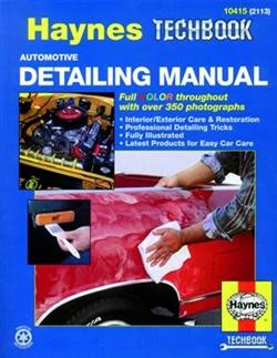 Haynes 10415 Automotive Detailing Techbook