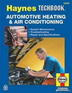 Haynes 10425 Automotive Heating and Air Conditioning Techbook