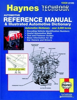 Haynes 10430 Automotive Reference Manual & Illustrated Automotive Dictionary Techbook