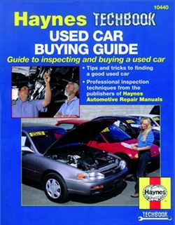 Haynes 10440 Used Car Buying Guide Techbook