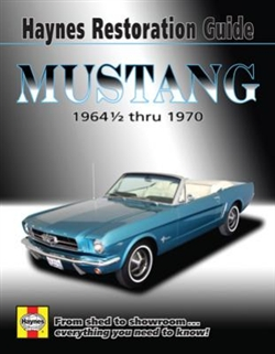 Haynes 11500 Ford Mustang Restoration Guide for 1964-1/2 thru 1970