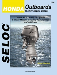 Honda Outboard Repair Manual 1978-2001