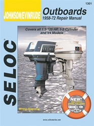 Evinrude Outboard Repair Manual 1958-1972